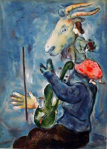 Printemps, Marc Chagall (1937)